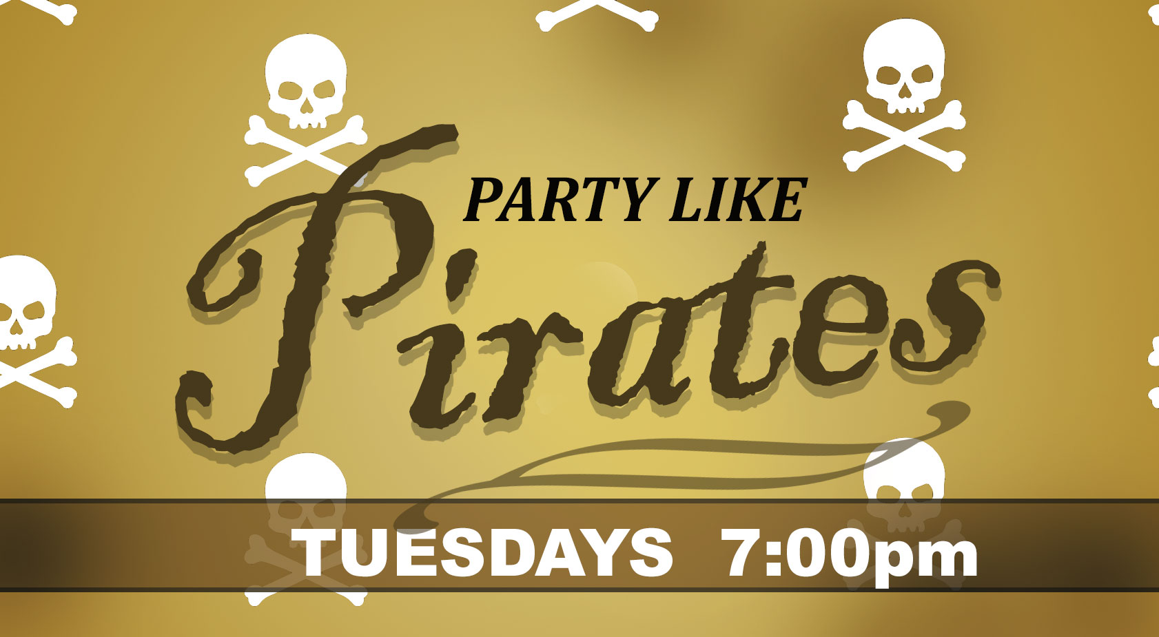 Tuesday Party Like Pirates