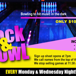 Rock & Bowl at Double Decker Lanes